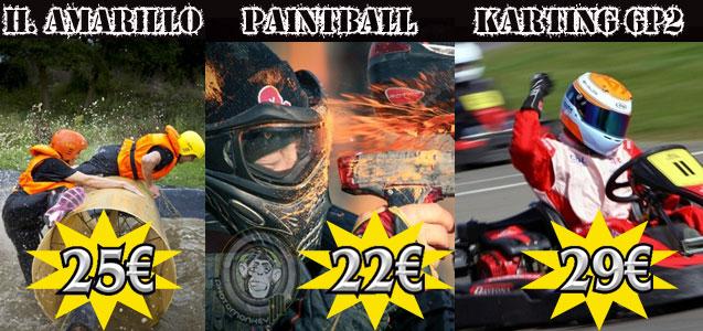 Humor Amarillo, Paintball, Karting - Despedidas de soltero y soltera